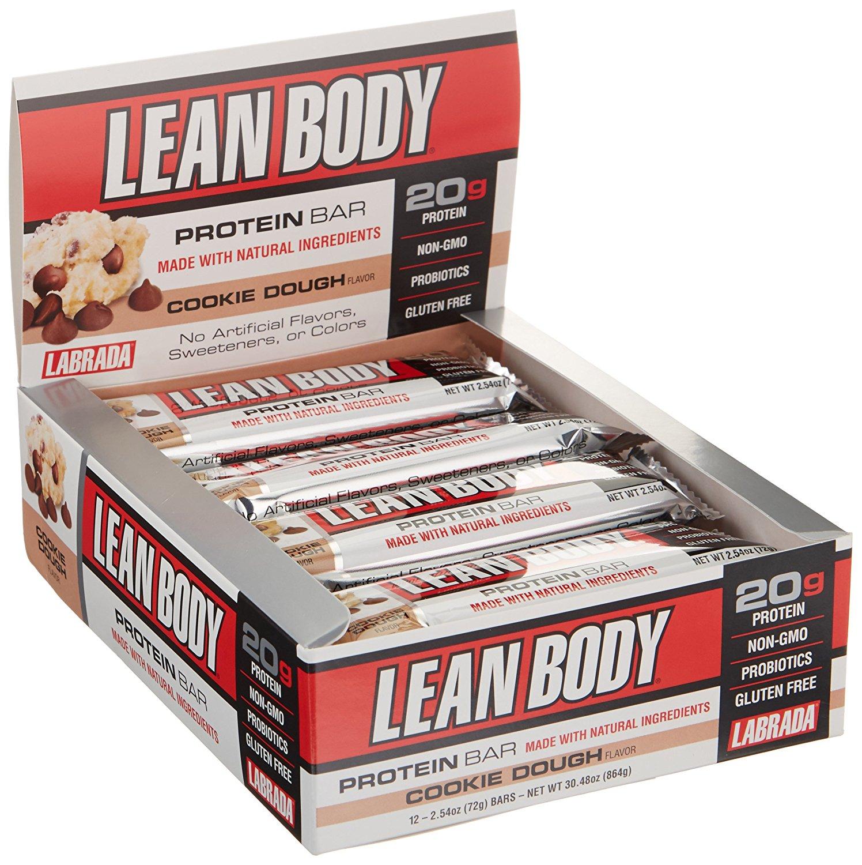 Lean protein bars