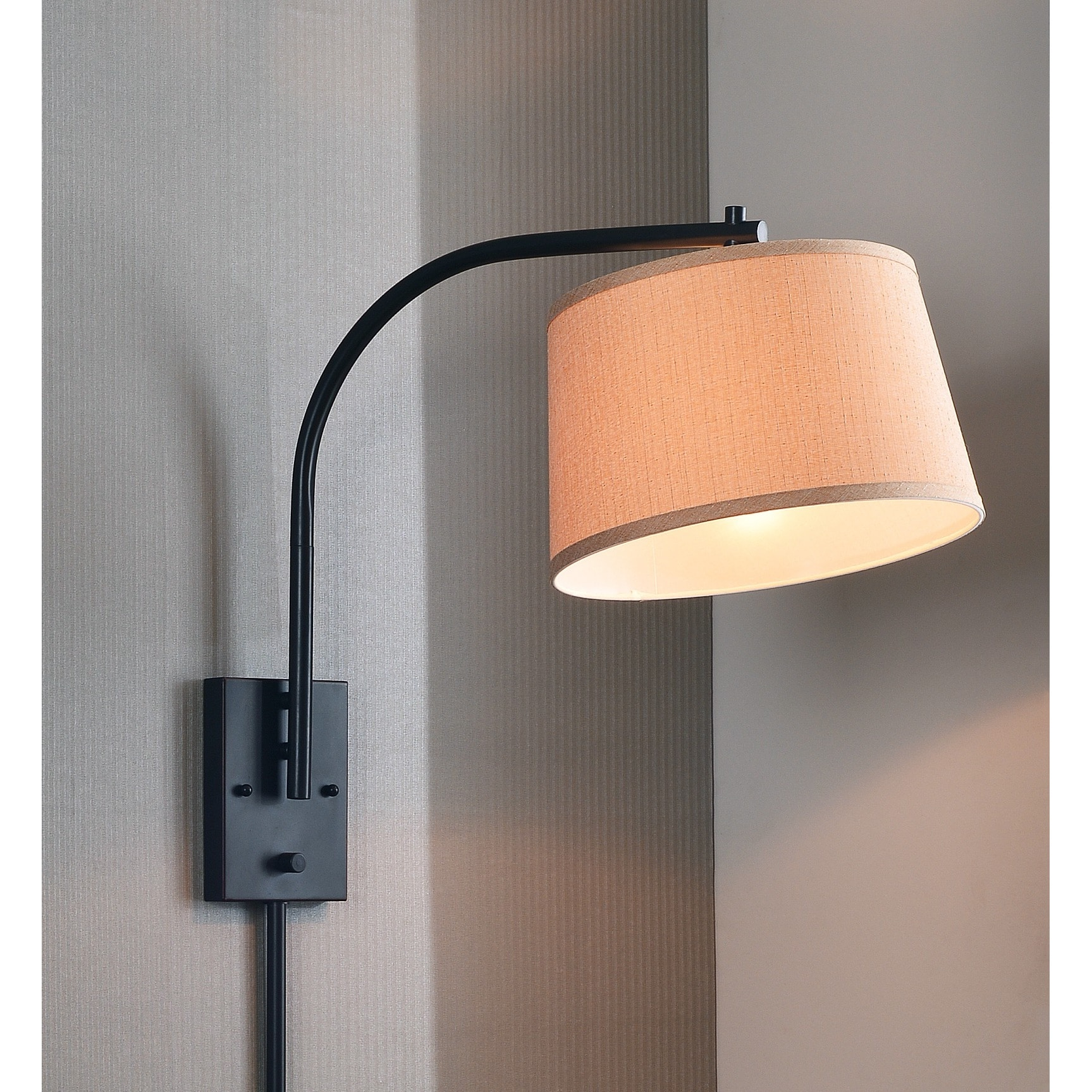 Design Craft Hackett 21-inch Wall Swing Arm Lamp by Overstock