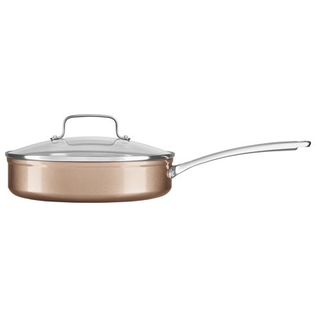 Kitchenaid Hard Anodized Nonstick 3 0 Quart Saut With Lid