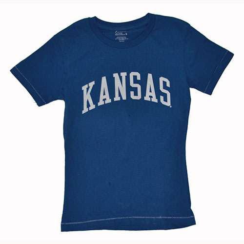 Kansas Jayhawks Ladies T-shirt - Blue
