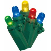 Holiday Time LED Lite Lock Dome Christmas Lights Multi, 225 Count