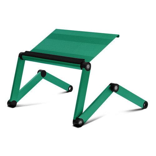 Furinno Ergonomics Aluminum Vented Adjustable Multi-Functional Laptop Desk