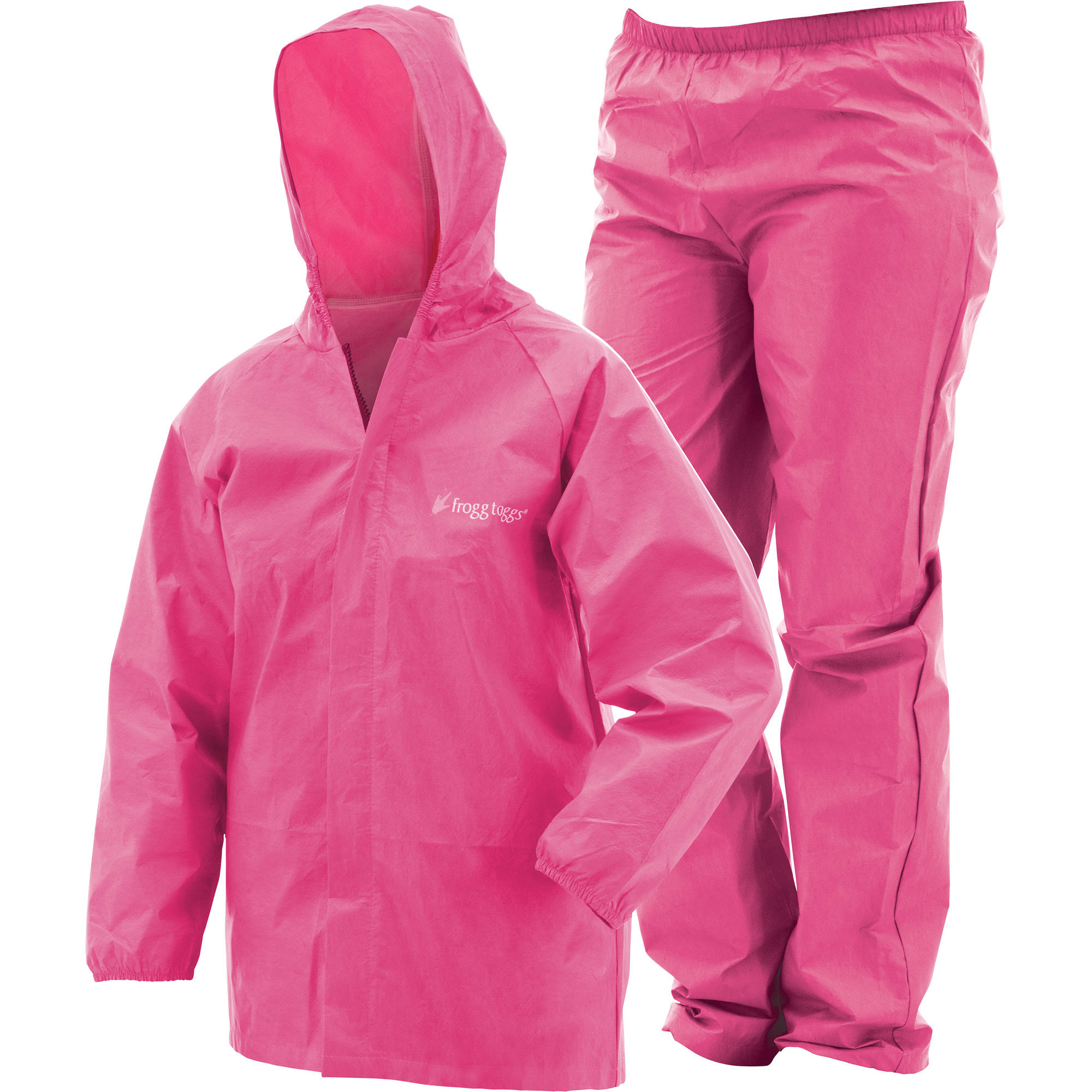 Frogg Toggs Youth Ultra-Lite Rain Suit Pink by Generic