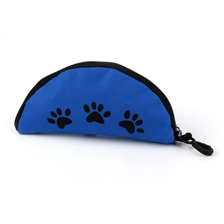 Oxford Cloth Waterproof Portable Zipper Foldable Travel Dog Food Water Bowl - image 2 of 8