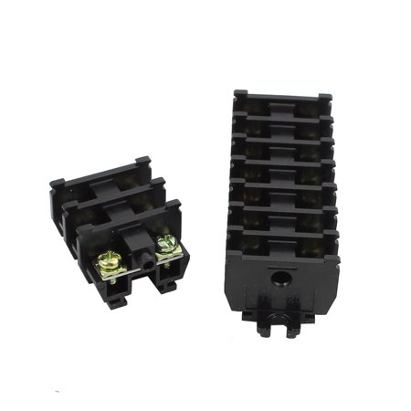 20Pcs TBC-20A 600V 20A Rail Mounted Screw Terminal Block Cable Connector TBC-20A - image 1 of 3