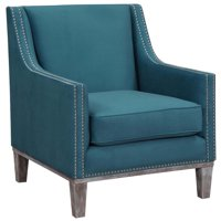 Bowery Hill Accent Arm Chair In Teal
