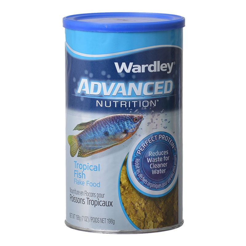 Wardley Advanced Nutrition Tropical Fish Flake Food 6.8 oz - Pack of 2