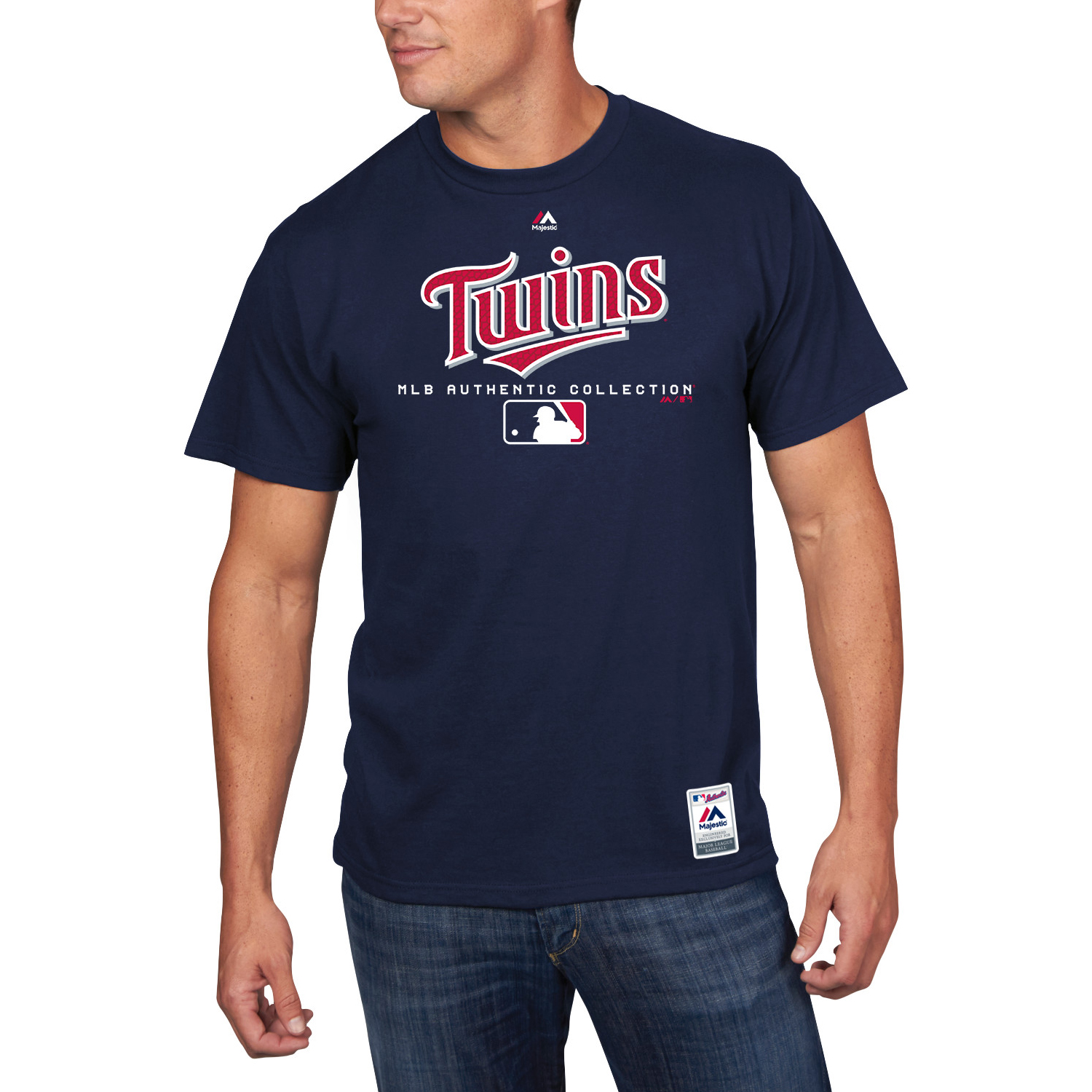 Minnesota Twins Majestic Authentic Collection Team Drive T-Shirt - Navy