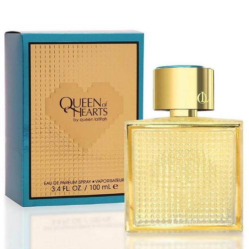 Queen Latifah Queen Of Hearts Eau de Parfum Spray 3.40 oz (Pack of 6)