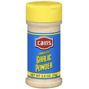 Cain's Granulated Garlic Powder, 2.5 oz