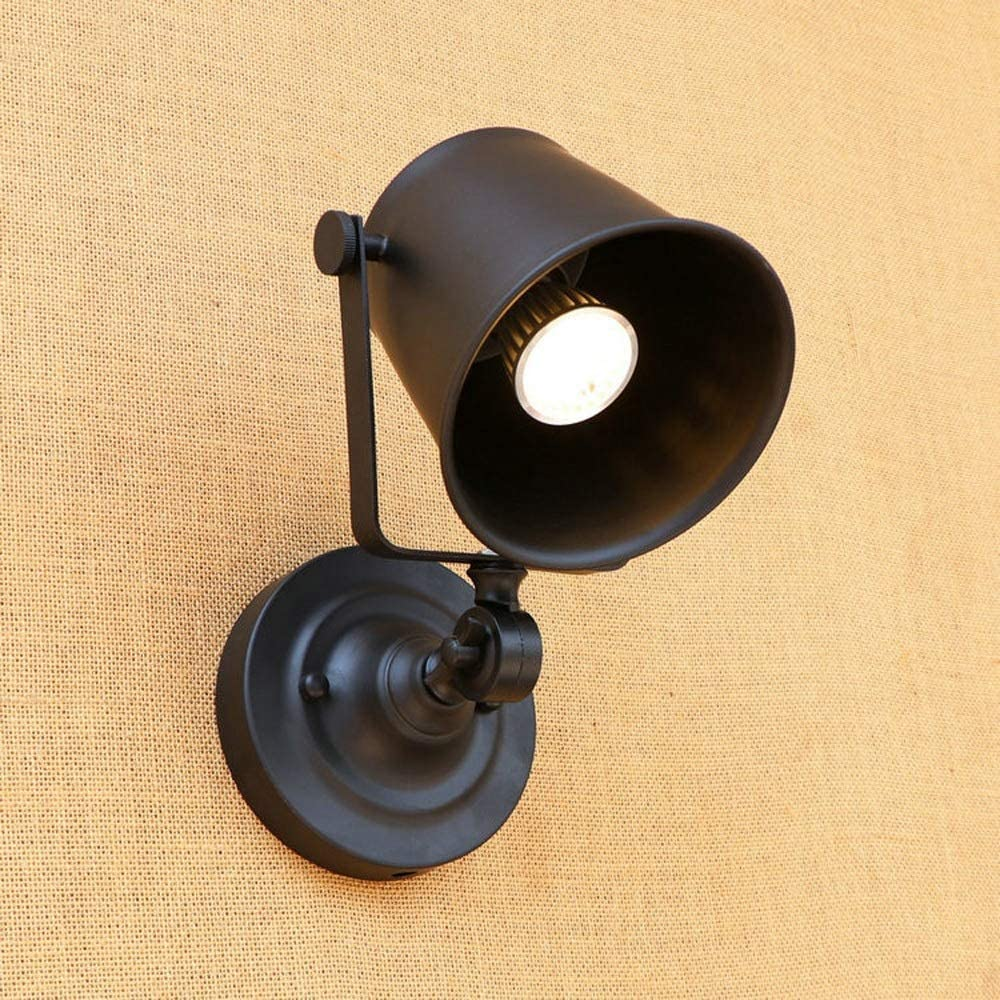 Industrial Style Wall Lights Creative Metal Wall Sconce Porch Light Adjusted Up And Down Decorative Wall Light Lamp Fixture Bedroom Study Loft Cafe Bar Counter Walmart Com Walmart Com