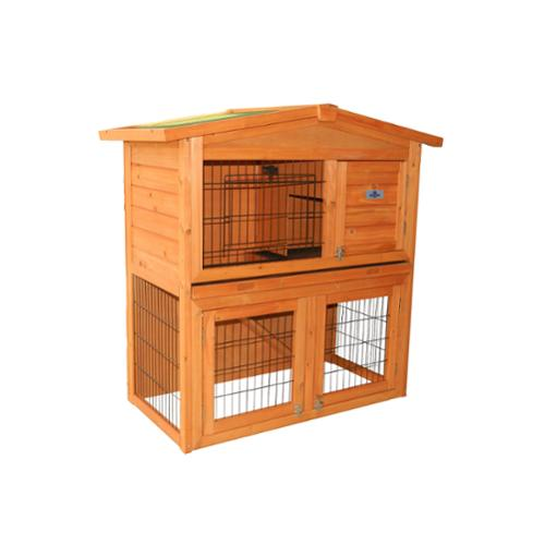 "Confidence Pet 40"" Rabbit Hutch Bunny Guinea Pig Cage Pen Chicken Coop"