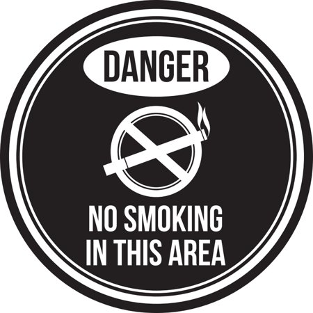 Danger No Smoking in T...