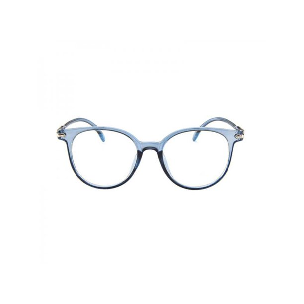 Starrynight Women S Stylish Glasses Oval Candy Color Non Prescription Eyeglasses Clear Lens Eyewea Walmart Com Walmart Com