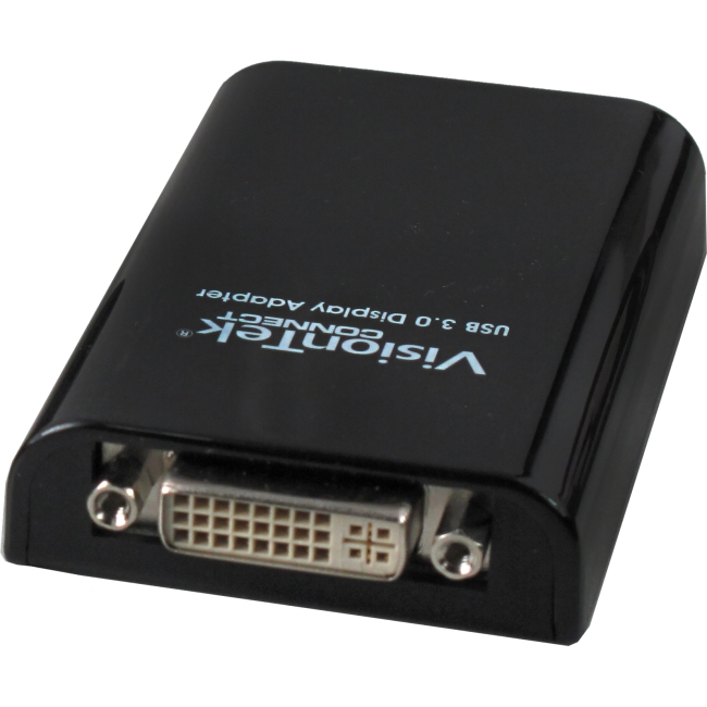 Visiontek Graphic Adapter - USB 3.0 - 2048 x 1152 - 1 x VGA - 1 x Total Number of DVI - 1 x Monitors Supported
