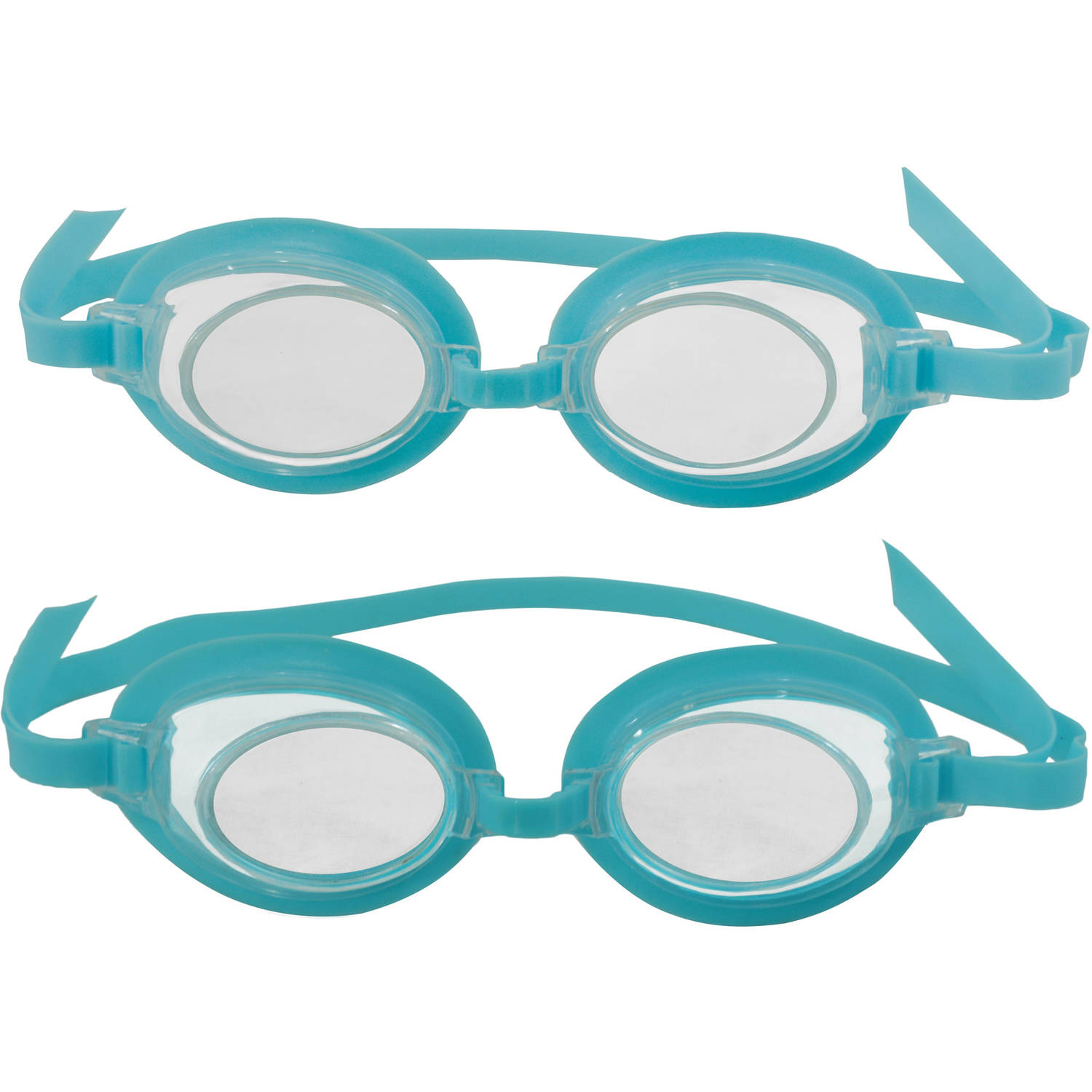 3D Action Kids Swim Goggles, 2pk by Blue Wave Products
