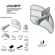 Ubiquiti AG-HP-2G16 airGrid M2 HP 2.4GHz 16dBi Airmax CPE all-in-one 100+Mbps