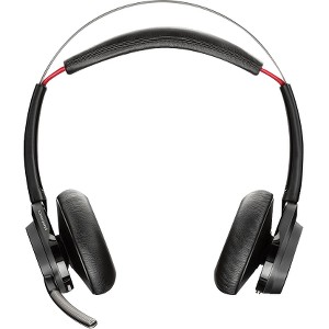 Plantronics Voyager Focus UC Stereo Bluetooth Headset With Active Noise Canceling (ANC) - Stereo - Wireless - Bluetooth - 147.6 ft - Over-the-head - Binaural - Circumaural - Noise Cancelling