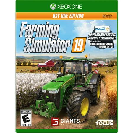 WALMART EXCLUSIVE Farming Simulator 19, Maximum Games, Xbox One, 859529007164 (Simulator Gam)