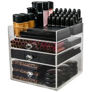 Acrylic Makeup Organizer Cube (3 Drawers) By N2 Makeup Co