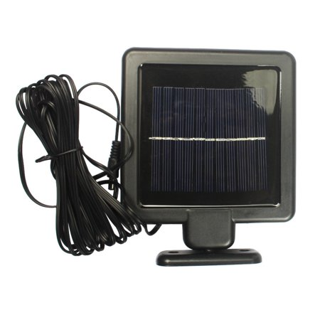 22 LED Highlight Double Spotlights Solar Garden Light Outdoor Waterproof Wall Lamp Black - image 4 of 5