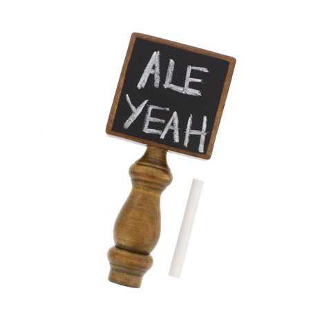 G Francis Chalkboard Beer Tap Handle for Kegerator with Chalk