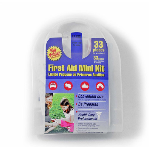 Ready America All-Purpose First Aid Mini Kit, 33 pc