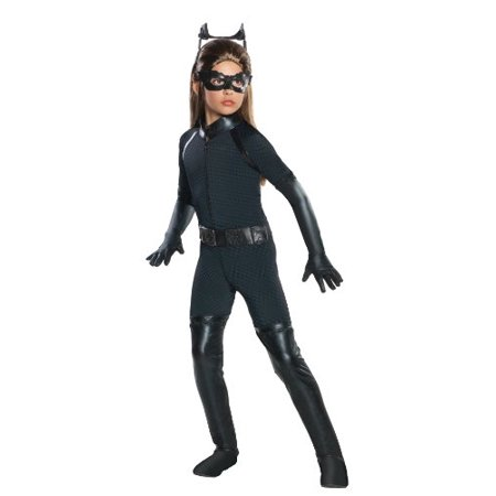 Batman Dark Knight Rises Child's Deluxe Catwoman Costume - Large - Childs Catwoman Costume