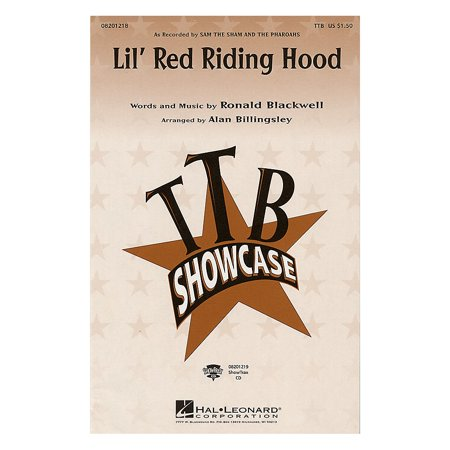 Hal Leonard Lil' Red Riding Hood ShowTrax CD by Sam the Sham and the Pharoahs Arranged by Alan