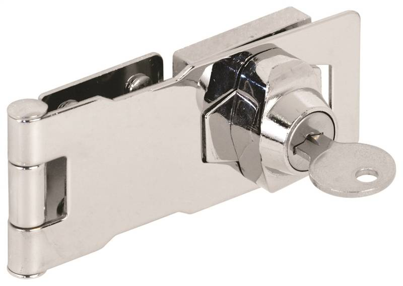 """U 9951 Keyed Hasp 4"""" by Prime Line Products"""