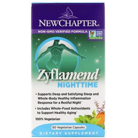 Nighttime Vitamin (New Chapter Zyflamend NightTime Vegetarian Capsules, 60)