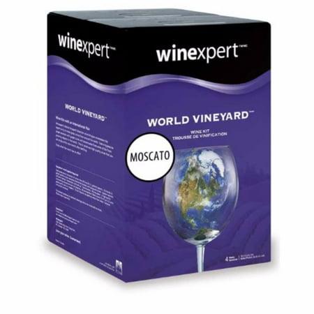 California Moscato (World Vineyard) by Wine Expert Wine Kit (Sweet Wine Moscato)