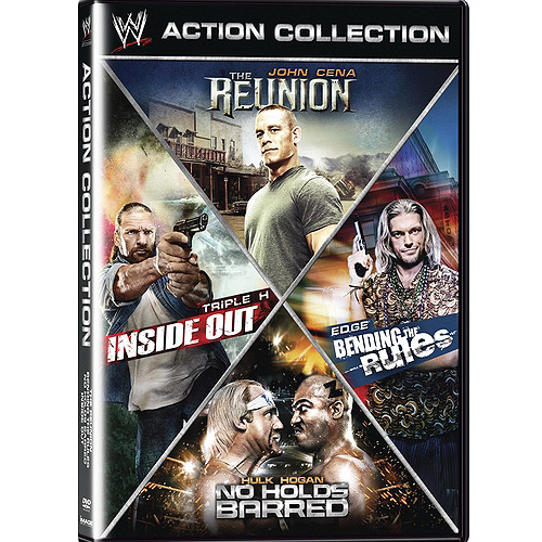 WWE Action Collection: Inside Out / The Reunion / Bending The Rules / No Holds Barred (Widescreen)