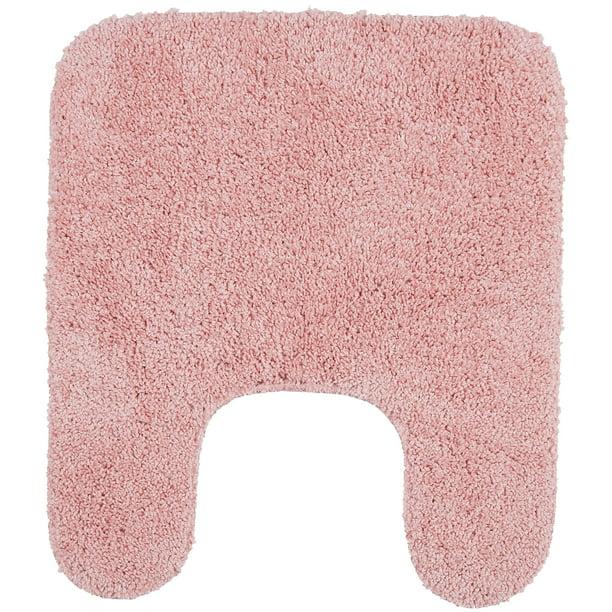 Mainstays Basic Bath Rug Daylily Pink 19 5 X 22 Contour Walmart Com Walmart Com