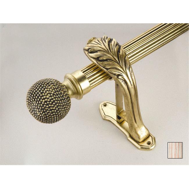 WinarT USA 8. 1068. 30. 11. 280 Palas 1068 Curtain Rod Set - 1. 25 inch - Flash Copper - 110 inch