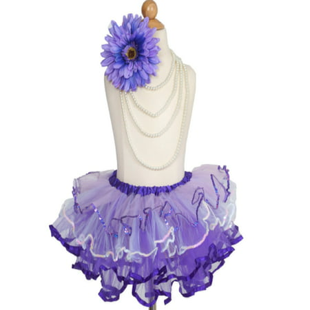 Efavormart Amethyst Purple Girls Girls Ballet Tutu Skirt for Dance Performance Events Wedding Party Banquet Event Dance Skirt](Tutu For Sale)