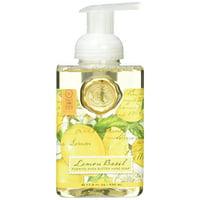 Michel Design Works Foaming Hand Soap, Lemon Basil, 17.8 Ounce