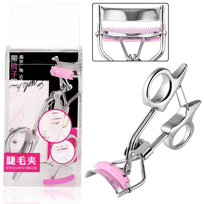 Women Beauty Tools Multifunctional False Eyelashes Makeup Cosmetic Eyelash Curler Tweezers Clip SPHP