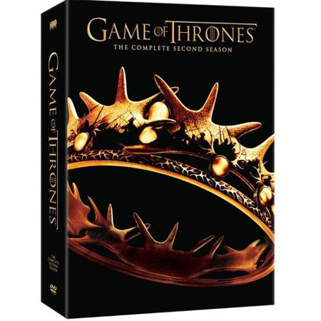 Game Of Thrones  The Complete Second Season  Dvd    5 Vudu Cash   Widescreen