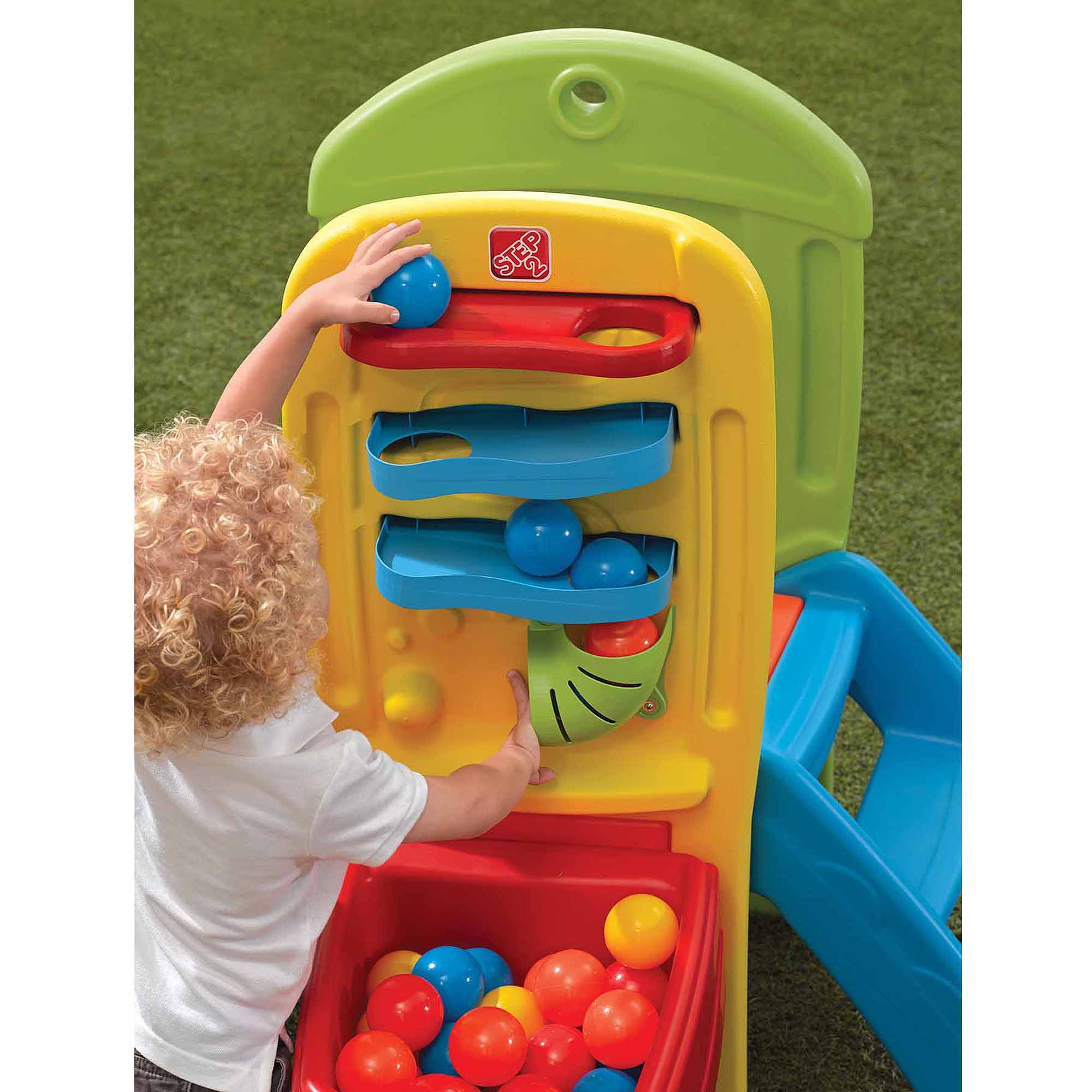 Step2 Play Ball Fun Climber Includes 10 Play Balls Walmart