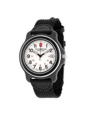 Victorinox Swiss Army Men's Original 249089 Black Nylon Strap Watch