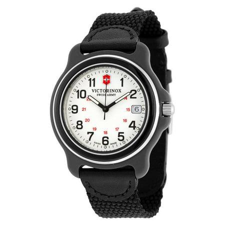 Victorinox Swiss Army Men's Original 249089 Black Nylon Strap Watch (Usa Army Watch)
