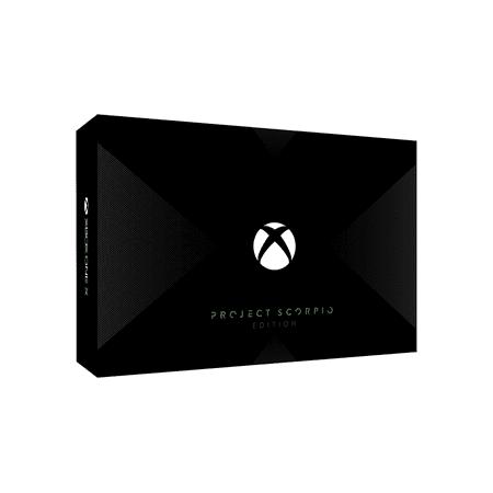 Microsoft Xbox One X Project Scorpio Edition 1TB Gaming Console
