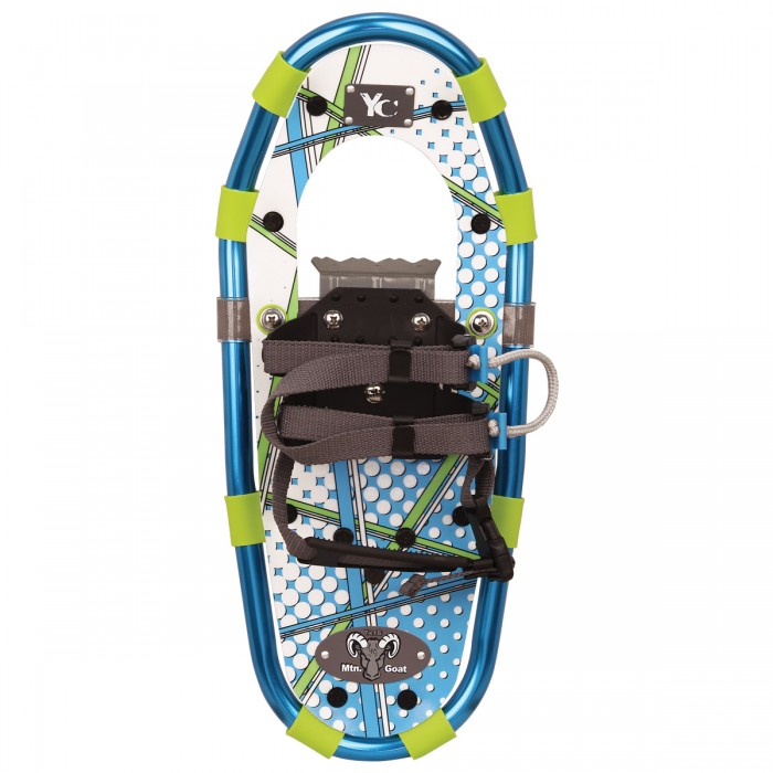 YOUTH Aluminum Snowshoe Kit Blue by Airhead Sports Group