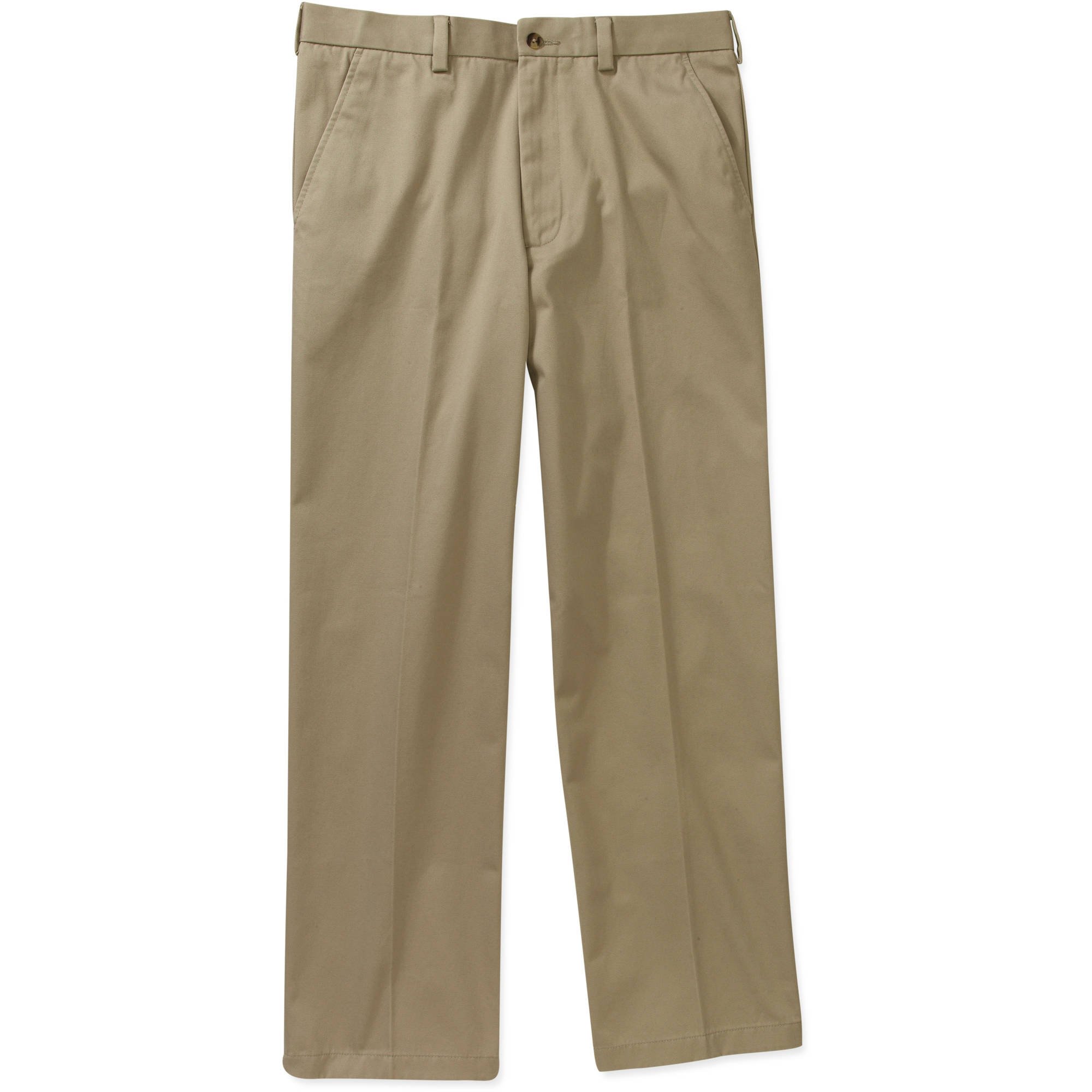 George - Big Men's Premium Flat Front Khaki Pants - Walmart.com