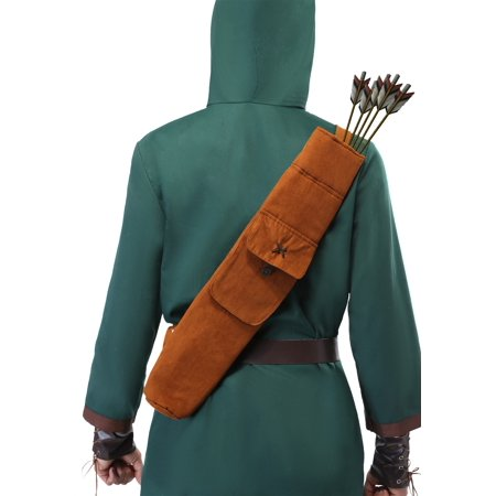 Robin Hood Quiver](Brown Hooded Cape)