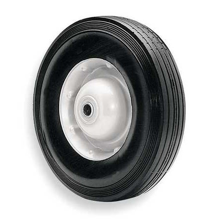 DAYTON 1ANU9 Semi Pneumatic Wheel, Rubber ()