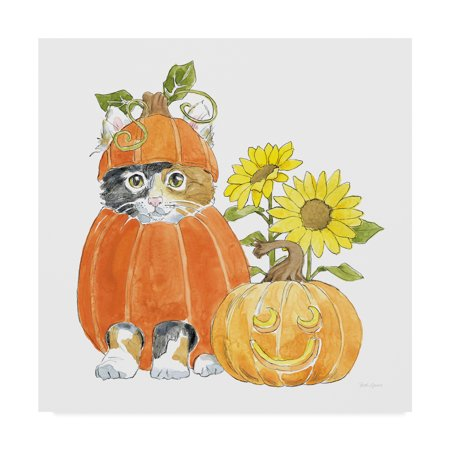 Trademark Fine Art 'Halloween Pets II' Canvas Art by Beth - Halloween Grove Gardens