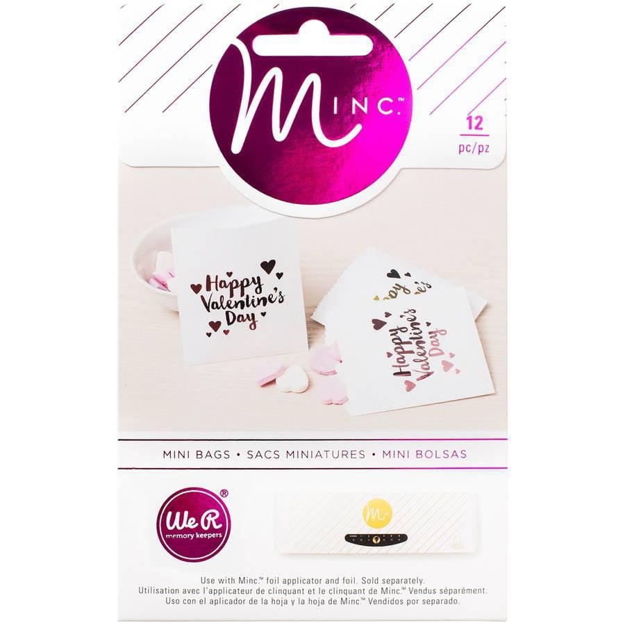 "Minc Mini Treat Bags, 3.75"" x 4.25"", 12pk, We R Memory Keepers Crush"