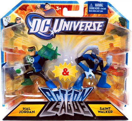 DC Universe Action League Hal Jordan & Saint Walker Mini Figures